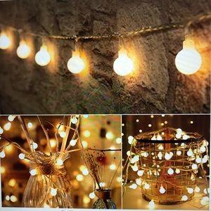 200 Led Mini Globe String Light 66 ft Fairy Light